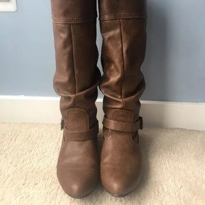 Mossimo supply co mid calf boots